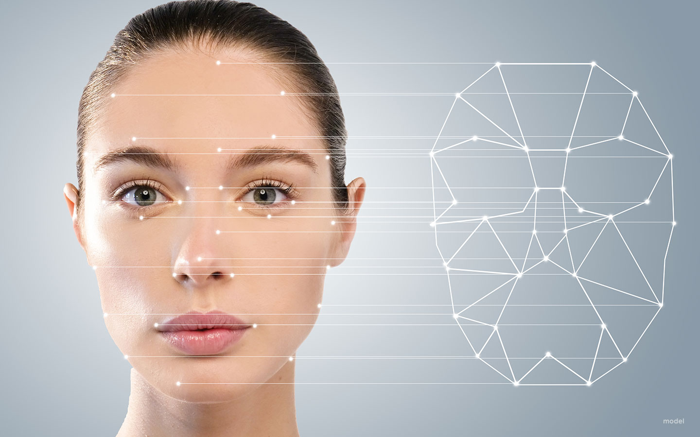 face mapping for customized plate design