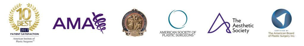 AIPS, AMA, ACS, ASPS, Aesthetic Society, ABPS